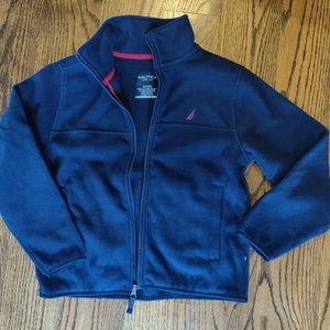 Nautica Fleece Blue NWOT - Size 8